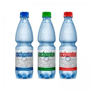 Agua Mineral Con y Sin Gas 500 ml Pack 12 Un